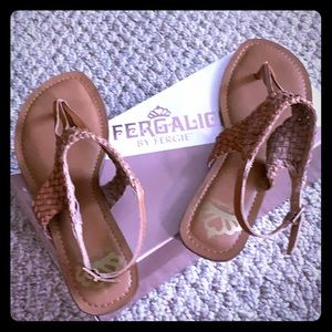 ❣️Brand new in box Fergalicious sandals❣️
